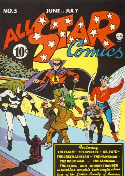All Star Comics 5
