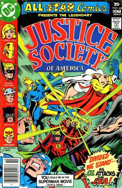 All Star Comics 68 - Justice Society Of America - Divided We Stand - Power Girl - Dr Fate - Green Lantern