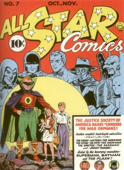 All Star Comics 7