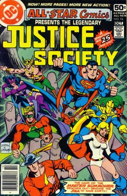 All Star Comics 74 - Dick Giordano, Joe Staton