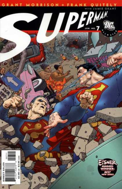 All-Star Superman 7 - Frank Quitely