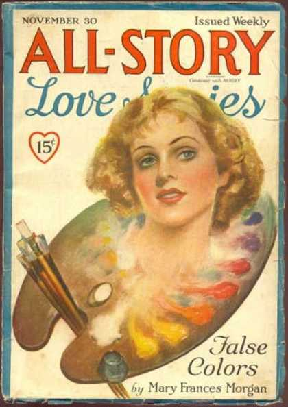 All-Story Love - 11/1935