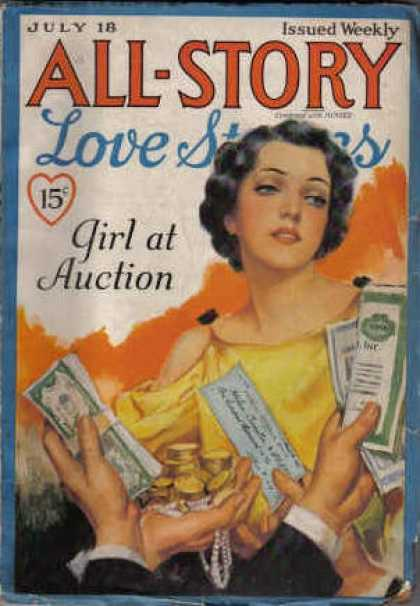All-Story Love - 8/1936