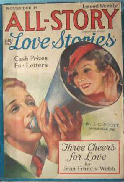 All-Story Love - 11/1936