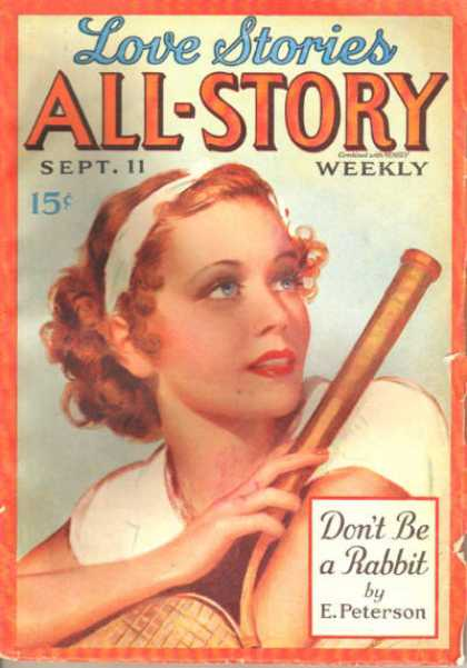 All-Story Love - 11/1937