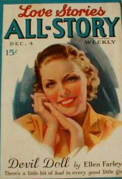All-Story Love - 12/1937