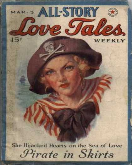 All-Story Love - 5/1938