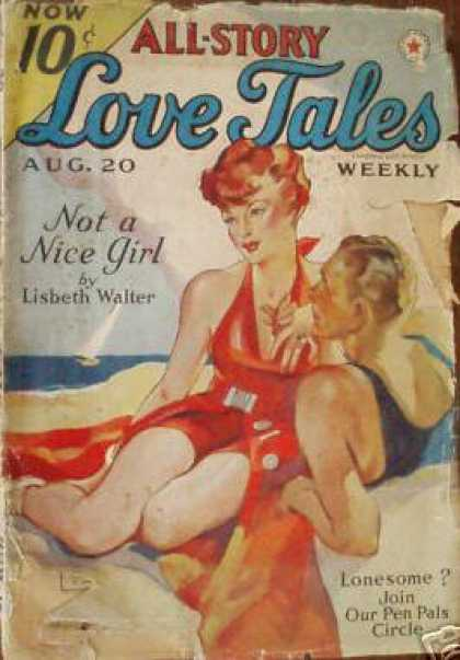 All-Story Love - 8/1938