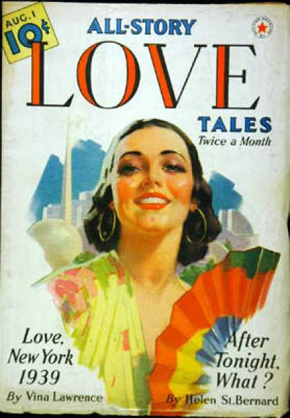 All-Story Love - 8/1939