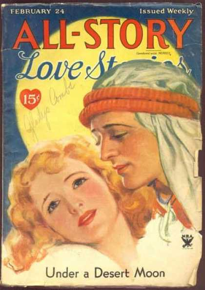 All-Story Love - 4/1934