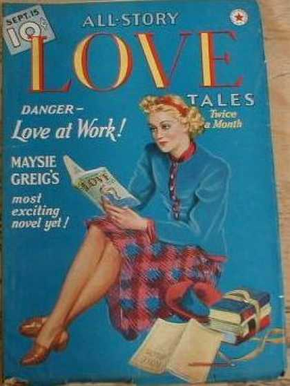All-Story Love - 9/1939