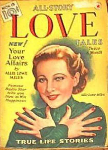 All-Story Love - 11/1939