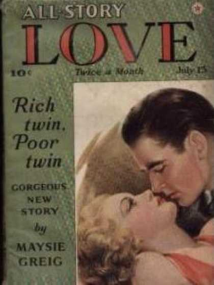 All-Story Love - 7/1940