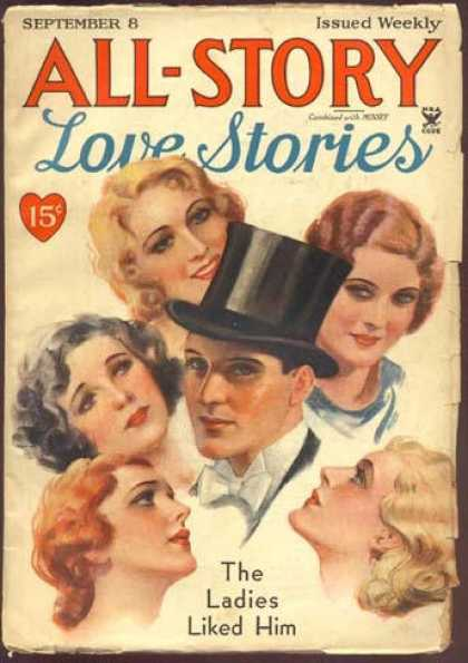 All-Story Love - 9/1934