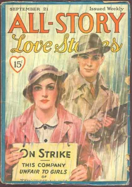 All-Story Love - 9/1935
