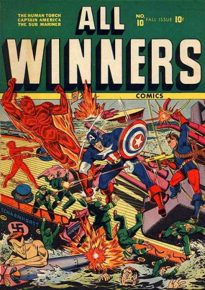 All Winners Comics 10