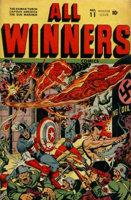 All Winners Comics 11