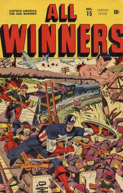 All Winners Comics 15