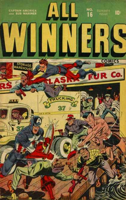 All Winners Comics 16