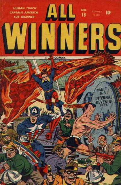 All Winners Comics 18