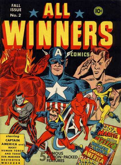 All Winners Comics 2