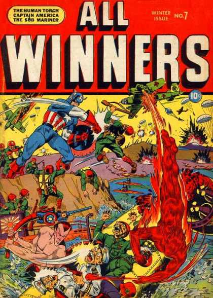 All Winners Comics 7