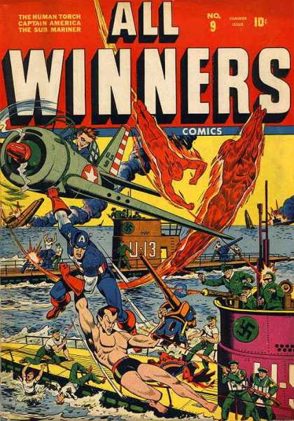 All Winners Comics 9