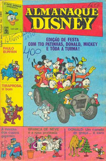 Almanaque Disney 1
