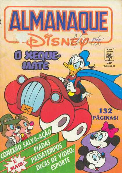 Almanaque Disney 242 - Spainish - Donald - Signed - Mickey - Minnie