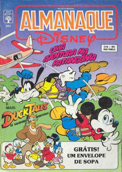 Almanaque Disney 251 - Almanaque - Disney - Duck Tales - Spanish Comic - Disney Character Adventure