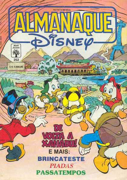 Almanaque Disney 252