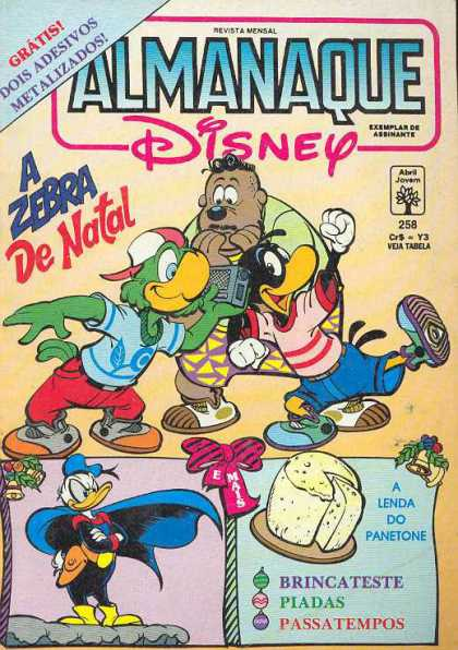 Almanaque Disney 258
