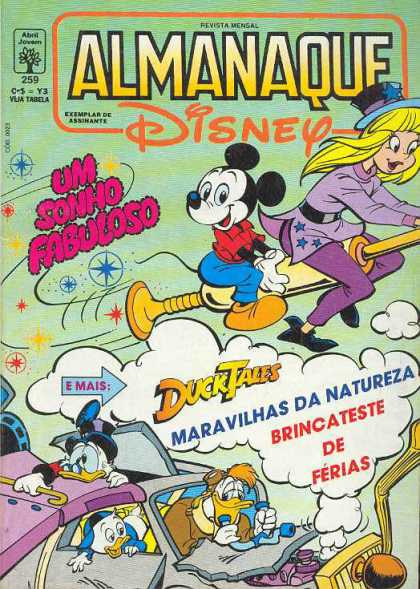 Almanaque Disney 259 - Mickey - Sabrina - Vacuum - Flying - Scrooge