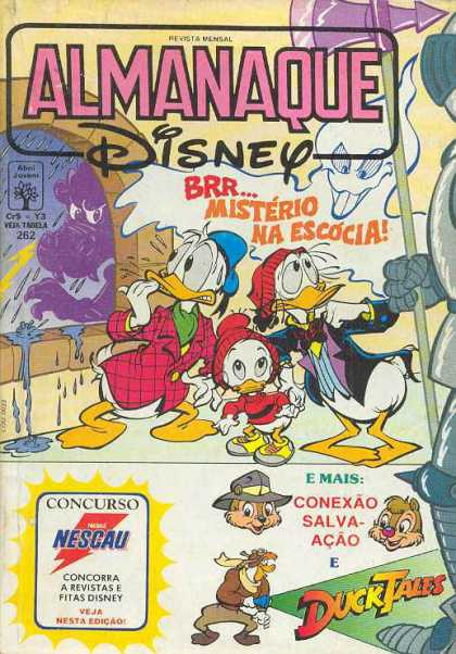 Almanaque Disney 262 - Donald Duck - Monster - Mystery - Ghost - Storm