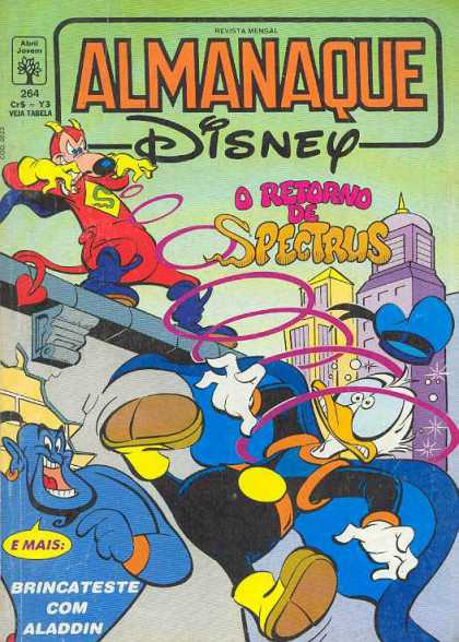 Almanaque Disney 264 - Almanaque - Disney - Donald Duck - Genie - Spectrus