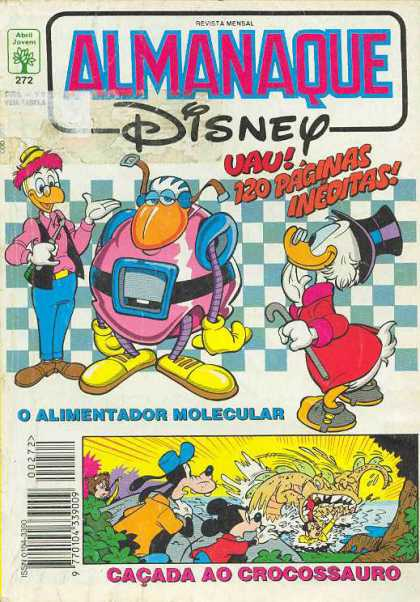 Almanaque Disney 272 - Ducks - Ineditas - Robot - Crocossauro - Mickey