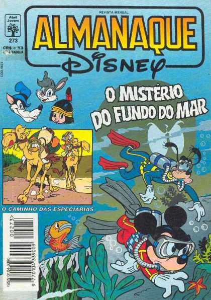 Almanaque Disney 273 - Indian - Camel - Goofy - Scuba - Animals