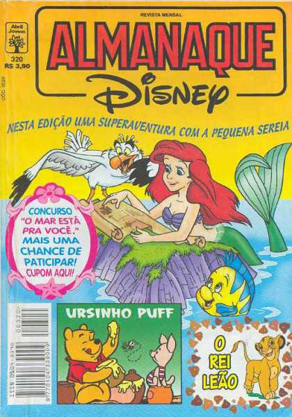 Almanaque Disney 320 - The Little Redhead - In Troubled Waters - Save The Maid - The Friendly Bird - The Lovely Maiden