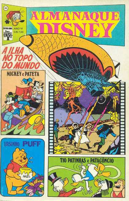 Almanaque Disney 62 - Pooh - Honey - Donald Duck - Mickey Mouse - Goofy