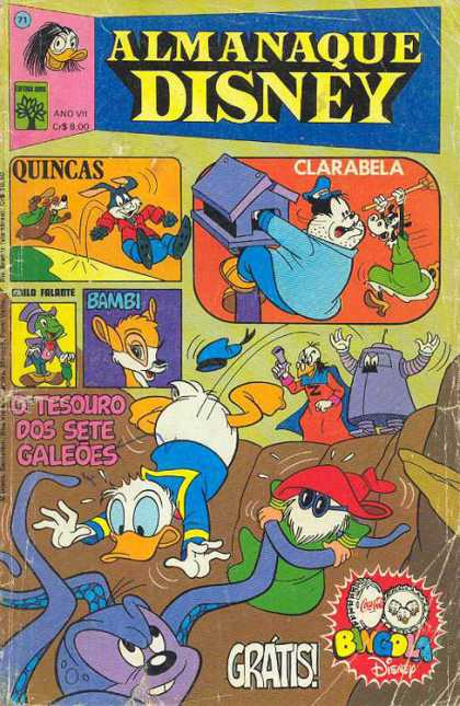 Almanaque Disney 71