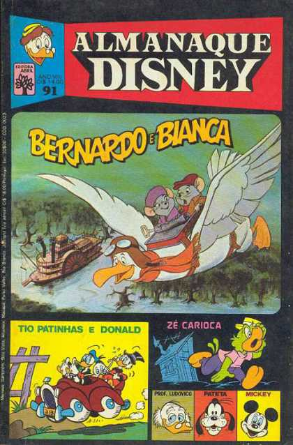 Almanaque Disney 91