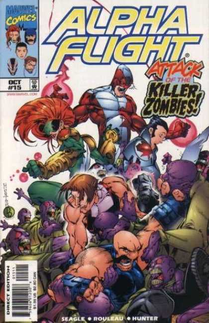 Alpha Flight (1997) 15