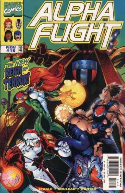 Alpha Flight (1997) 16