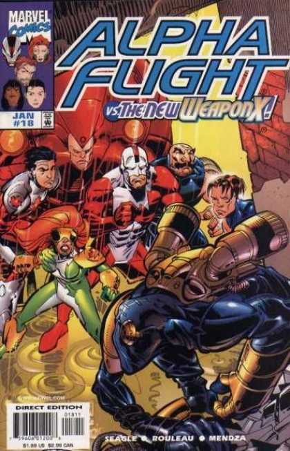 Alpha Flight (1997) 18