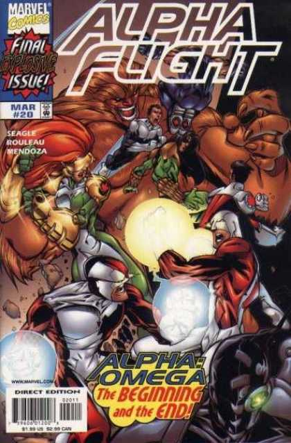 Alpha Flight (1997) 20