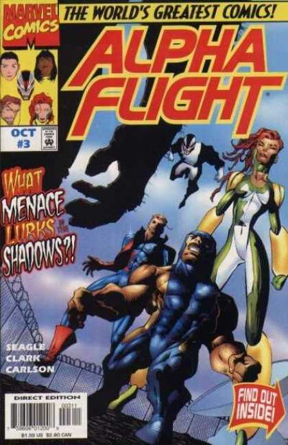 Alpha Flight (1997) 3