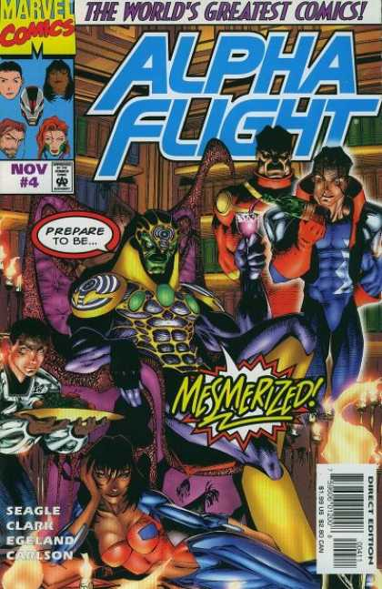Alpha Flight (1997) 4