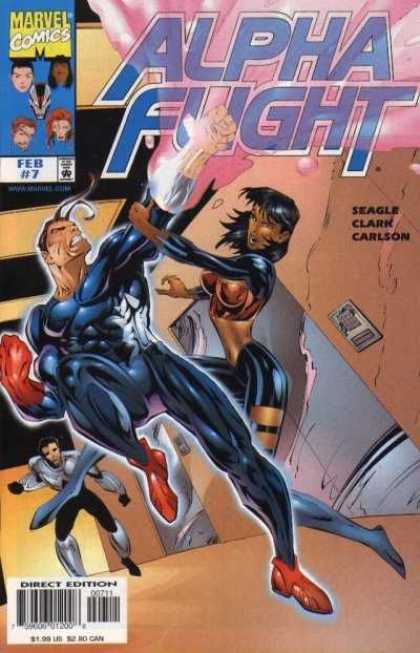 Alpha Flight (1997) 7