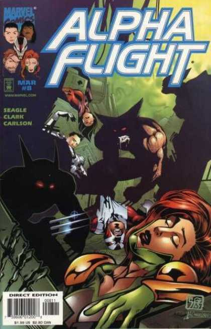 Alpha Flight (1997) 8