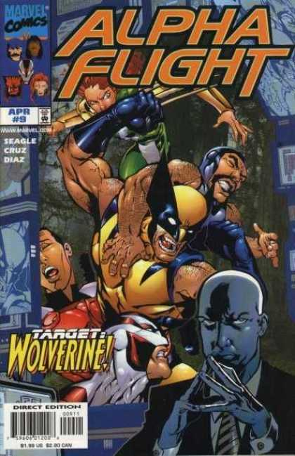 Alpha Flight (1997) 9